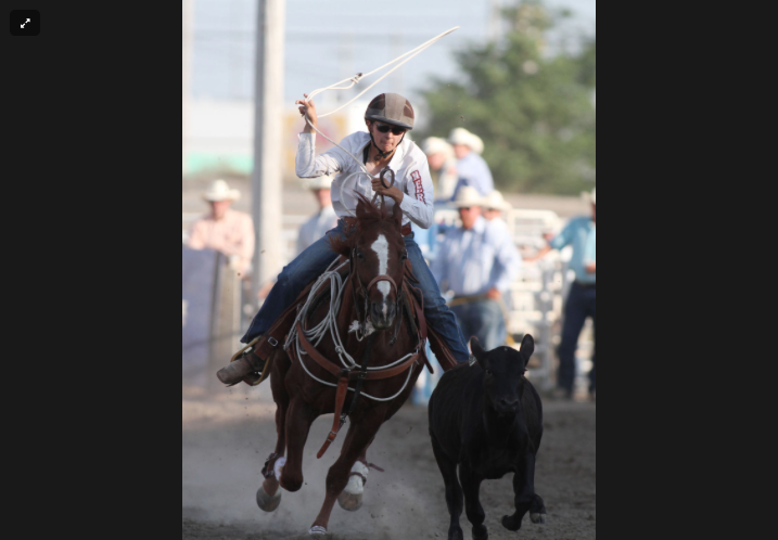 Rodeo teen keeps her eye on the prize